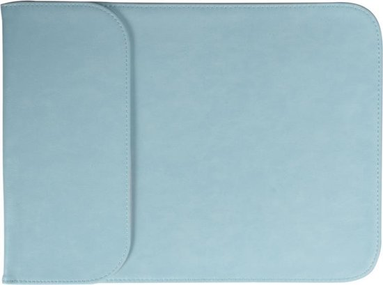 Let op type!! 15 4 inch PU + nylon laptop tas Case Sleeve notebook draagtas  voor MacBook  Samsung  Xiaomi  Lenovo  Sony  DELL  ASUS  HP (blauw)