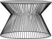 WOOOD Suus Salontafel - Metaal - Zwart - 40x60x60