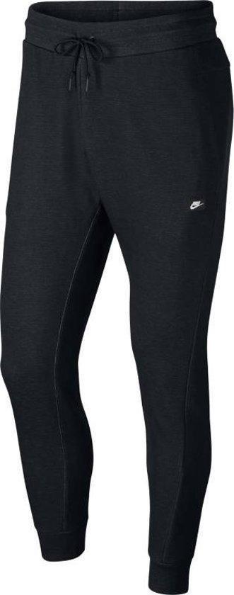 Nike Nsw Optic Jggr Heren Joggingbroek - Black/Htr/Black - Maat L