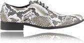 - Lureaux - Kleurrijke Schoenen Voor Heren - Veterschoenen Met Print