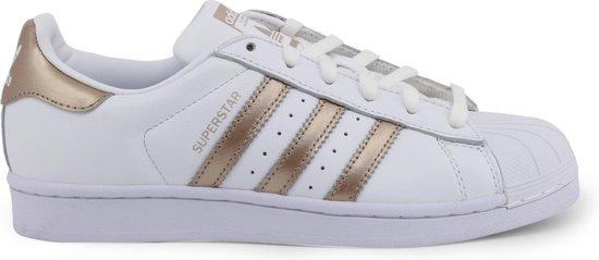 adidas Superstar W Dames Sneakers - Ftwr White/Cyber Met./Ftwr White - Maat  41 1/3