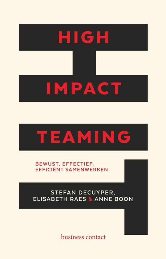 High Impact Teaming - Stefan Decuyper pdf epub