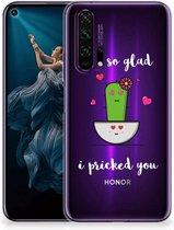 Honor 20 Pro Telefoonhoesje met Naam Cactus Glad