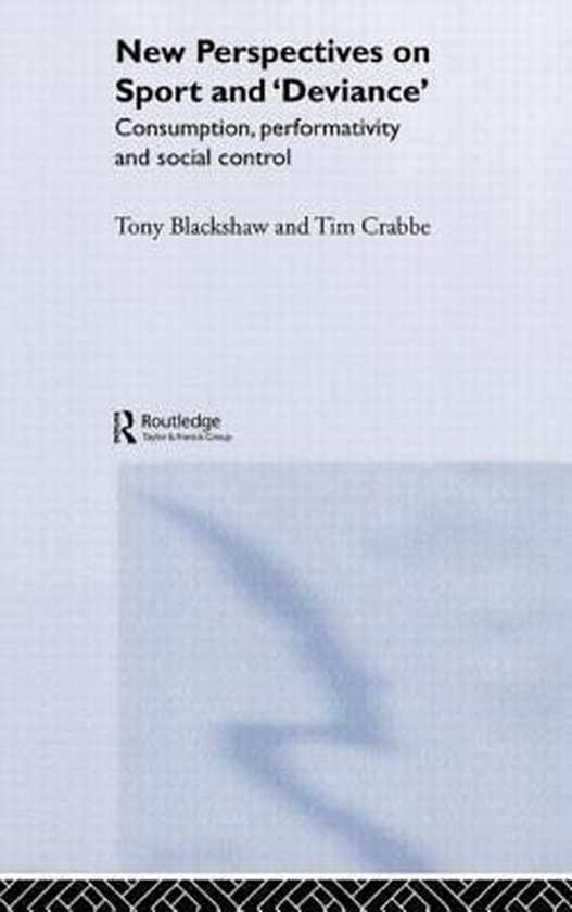 Boek cover New Perspectives on Sport and Deviance van Tim Crabbe (Hardcover)