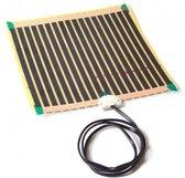 Spiegelverwarming, verwarming voor spiegels 30x30cm-12W-200W/m2