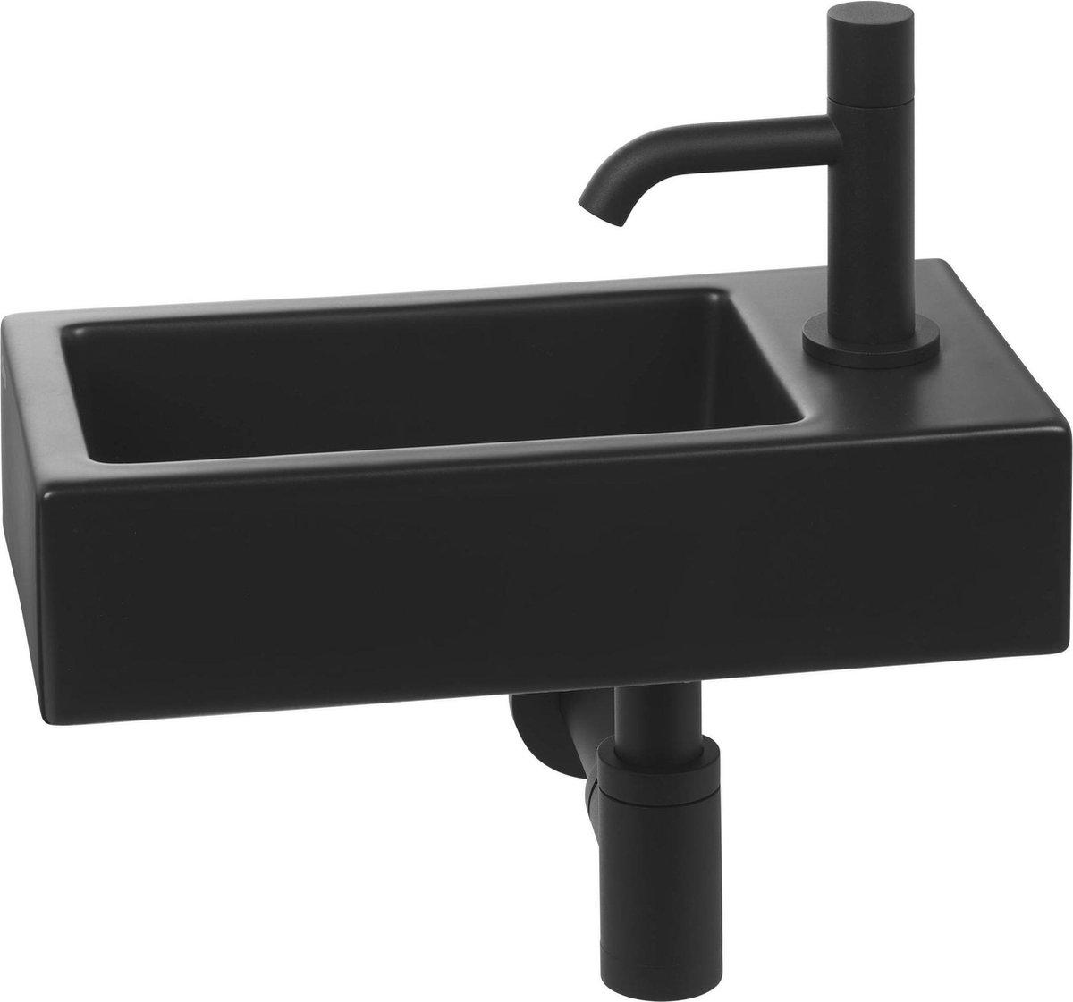 Clou Flush 3 Complete Fonteinset rechts Zwart/Zwart