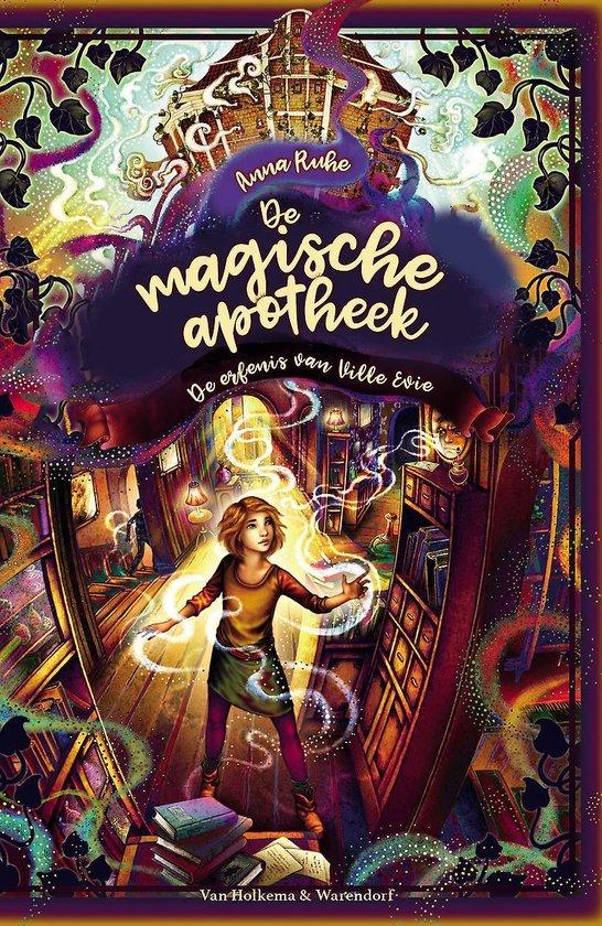 Boek cover De magische apotheek 6 -   De magische apotheek - De erfenis van Villa Evie van Anna Ruhe (Hardcover)