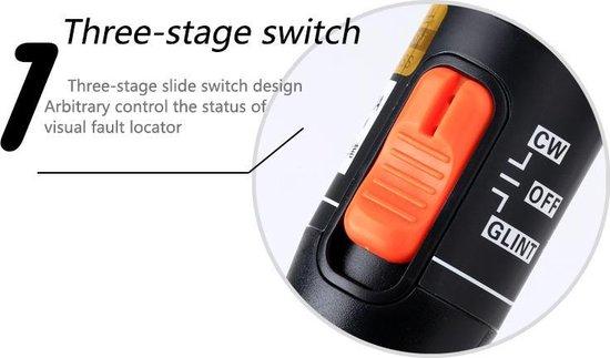 Test laserpen voor glasvezel diagnose Fiber optic tester / Reikt 10 tot 12km ver en helpt glasvezel schades op te sporen