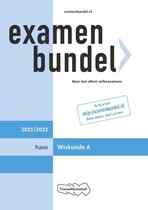 Examenbundel havo Wiskunde A 2021/2022