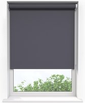 Sunsta DL Rolgordijn Verduisterend Antraciet - 130 x 180 cm