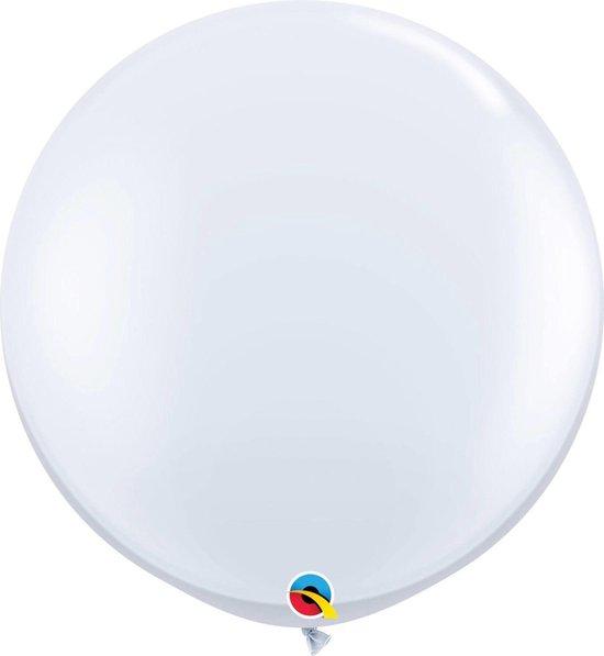 Qualatex mega ballon 90 cm wit