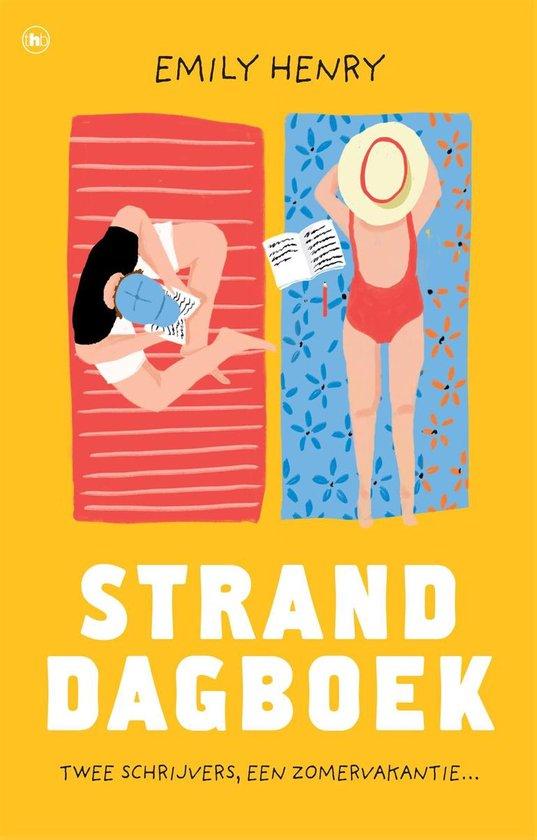 Boek cover Stranddagboek van Emily Henry (Paperback)