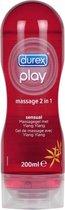 Durex Massage Olie en Glijmiddel - Sensual - Waterbasis - 200 ml