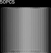 Let op type!! 50 stuks voor Motorola Moto E4 Plus 0.3 mm 9H oppervlaktehardheid 2.5D explosieveilige gehard glas niet-volledig scherm Film  geen retailpakket