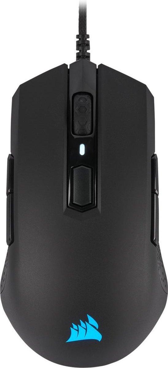 Corsair M55 RGB Pro Gaming Muis - 12.400 DPI - Zwart