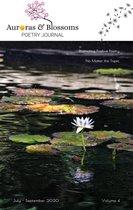 Boek cover Auroras & Blossoms Poetry Journal: Issue 4 (July - September 2020) van Cendrine Marrouat