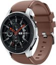 Samsung Galaxy Watch silicone band (koffiebruin) - 46mm
