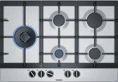 Siemens EC7A5SB90 kookplaat Roestvrijstaal Ingebouwd Gaskookplaat