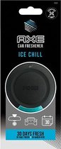 Axe Geurhanger 6cm Ice Chill Zwart/blauw