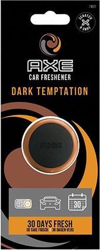 Axe Luchtverfrisser Mini Vent 3 Cm Dark Temptation Zwart/oranje