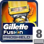 Gillette Fusion 5 ProShield Scheermesjes Mannen - 8 Stuks