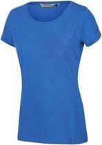 Regatta T-shirt Carlie Dames Katoen Blauw Maat L