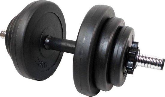 TREND Dumbbell 2 x 10 kg | verstelbare dumbell | Halter set | gewichten set 20 kg