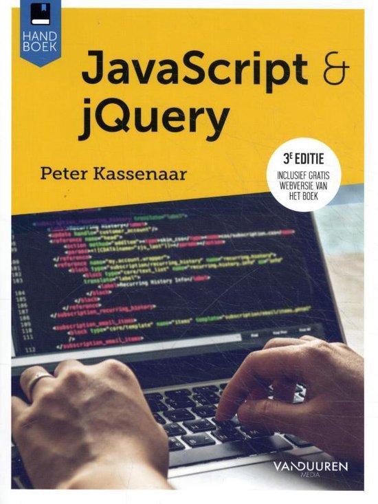 JavaScript & JQuery - 3e editie - Peter Kassenaar |