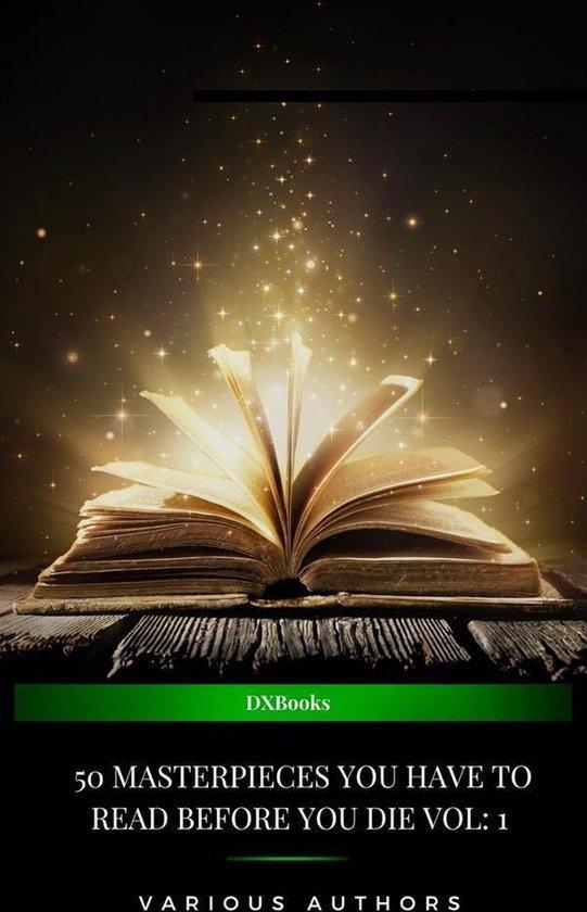 Boek cover 50 Masterpieces you have to read before you die vol: 1 (2020 Edition) van Joseph Conrad