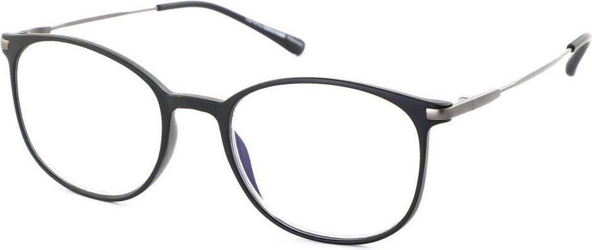 Leesbril Ofar Office Multifocaal CF0003A zwart met blauwlicht filter +1.50 kopen