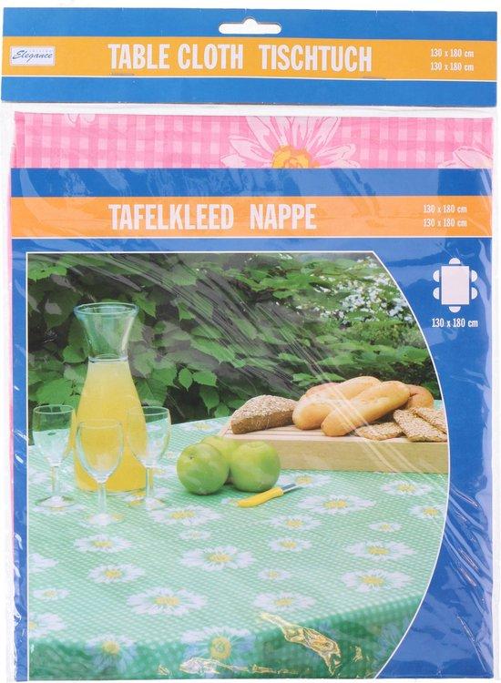 Cuisine Elegance Tafelkleed 130 X 180 Cm Polyetheen Roze
