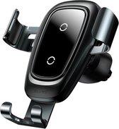 Draadloze Oplader Telefoonhouder - Baseus Qi Charger - Autohouder telefoon - Autolader Quick Charge