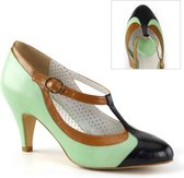 Pin Up Couture Pumps -38 Shoes- PEACH-03 US 8 Groen