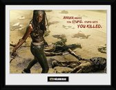 Merchandising THE WALKING DEAD - Collector Print 30X40 - Michonne Kill
