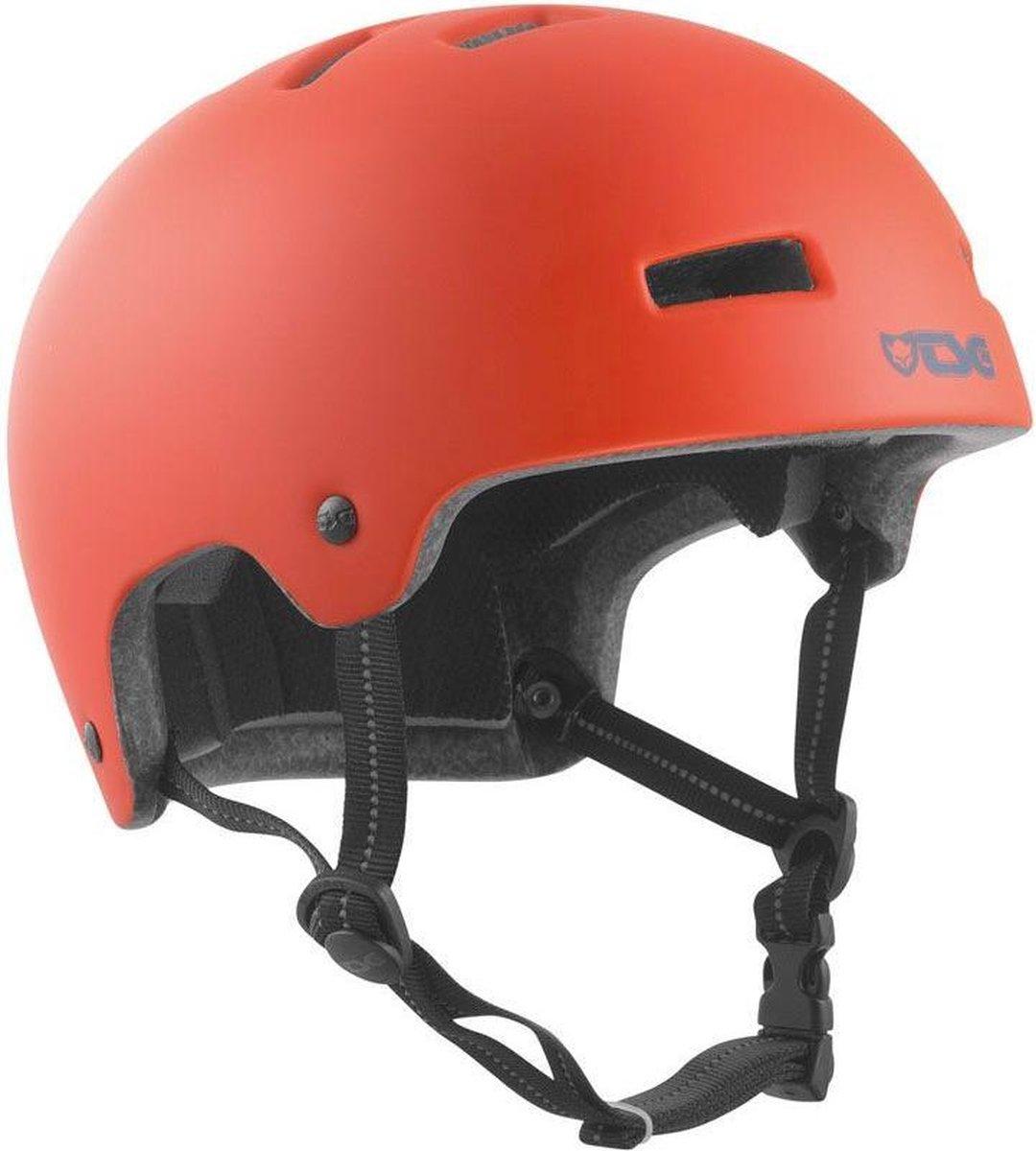 TSG Skatehelm Nipper Poppy Orange | 52-54cm