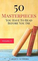 Boek cover 50 Masterpieces you have to read before you die vol: 2 (Guardian™ Classics) van Lewis Carroll (Onbekend)