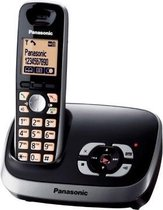 Panasonic KX-TG6521 GB - Single DECT telefoon - Antwoordapparaat - Zwart