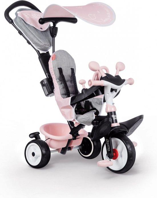 Smoby Baby Driver Plus Roze - Driewieler