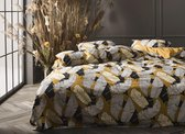 Essenza Home dekbedovertrek Serena ochre - extra kussensloop (60x70 cm)